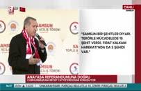 Erdoğan: Yaptığınız terbiyesizlik sicilinizde kara bir leke olarak kalacak