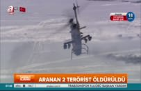 Aranan teröristleri öldüren askerlere mehterli karşılama