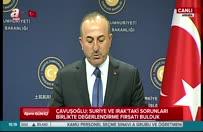 Çavuşoğlu, ABD'li mevkidaşının yüzüne söyledi