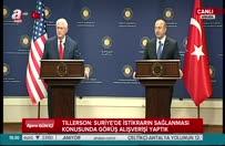 ABD'li Bakan Tillerson YPG ile ilgili soruyu yanıtsız bıraktı