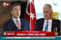 Başbakan Yıldırım'dan KDV müjdesi