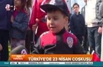 Çocuklar A Haber için muhabirlik yaptılar