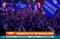 Fransa'da cumhurbaşkanlığı seçiminin ilk turu sonuçlandı