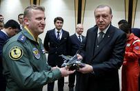Erdoğan, pilotları kabul etti