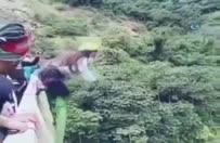 Bungee jumping faciayla bitti