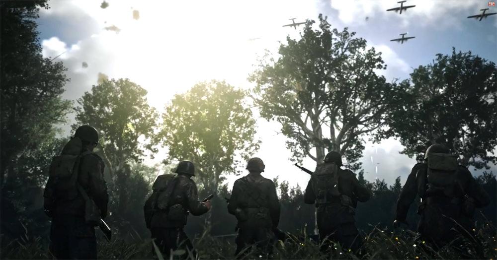 Call of Duty: WWII oyununun ilk fragmanı