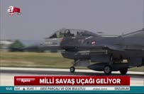 Milli savaş uçağı TF-X geliyor