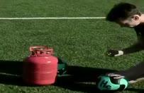 Helyum gazı dolu topla penaltı çekilirse...