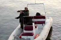 Balık tutarken görünmez kaza