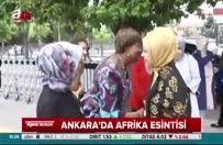 Erdoğan, Afrika evini ziyaret etti