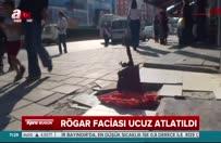 İzmir Çiğili'de genç kız üstü kartonla kapalı rögara düştü!