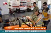 Yüzlerce asker tedavi altına alındı