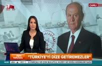 Bahçeli sert çıktı: Türkiye'yi dize getiremezler!