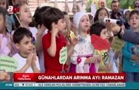 'Tekne orucu' tutan çocukların iftar sevinci