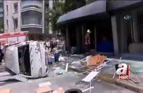 Maltepe'de bir iş yerinde patlama