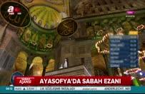 Ayasofya Camii'nde sabah ezanı 'rahatsız' etti