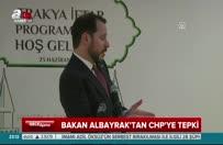 Bakan Albayrak'tan CHP'ye tepki