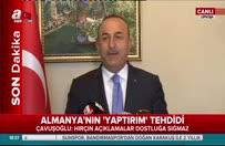 Bakan Mevlüt Çavuşoğlu'ndan Almanya'ya yanıt