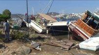 Tsunami yaşanan bölgede son durum!