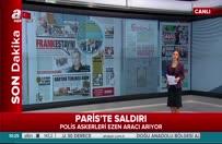 Paris'te askerlerin üzerine araç sürüldü
