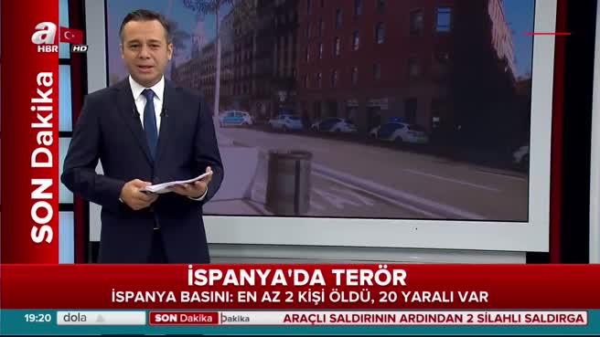 Barcelona'da gerçekleşen terör saldırısının görgü tanığı konuştu