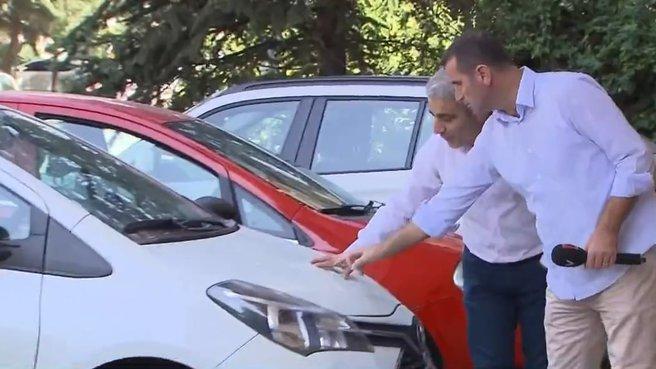 Bayiden aldığı araç tamamen boyalı çıktı!