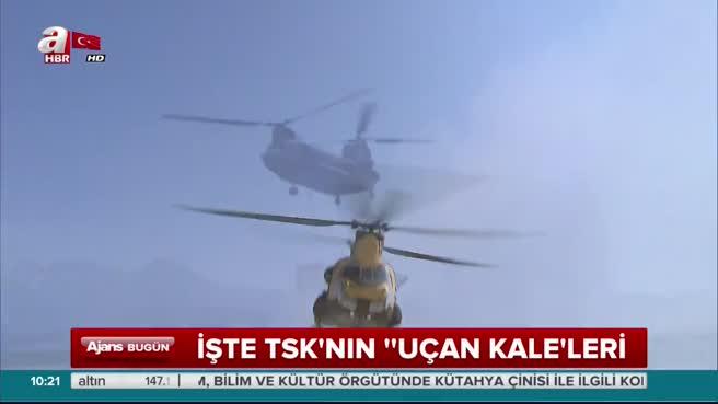 İşte TSK'nın 'uçan kale'leri: Chinook